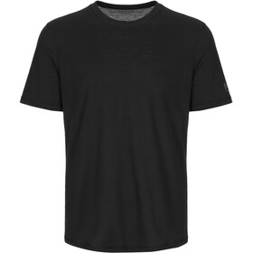 super.natural Base 140 Tee Men jet black